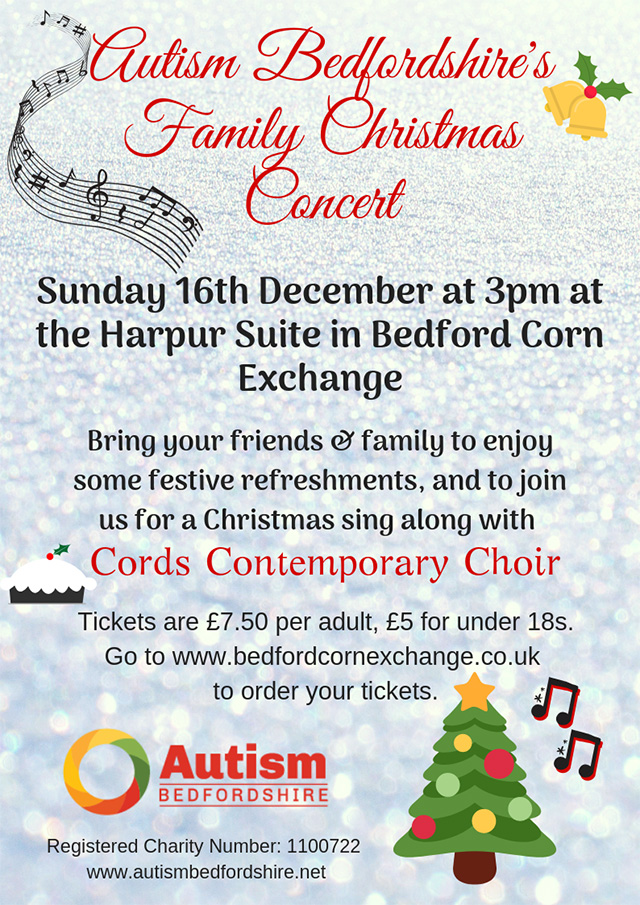 Autism Bedfordshire's Family Christmas Concert