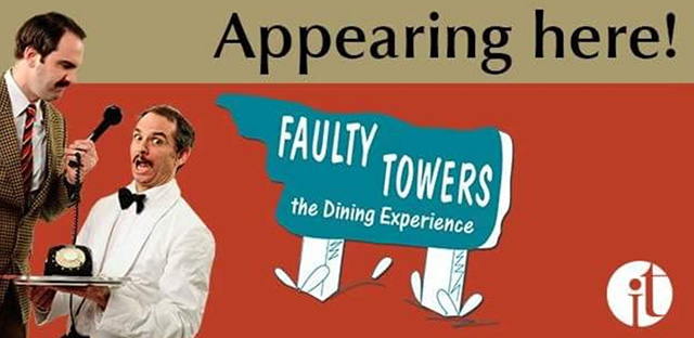 Faulty Towers at The Swan Hotel, Bedford