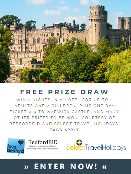 Love Bedford Medieval Day Free Prize Draw