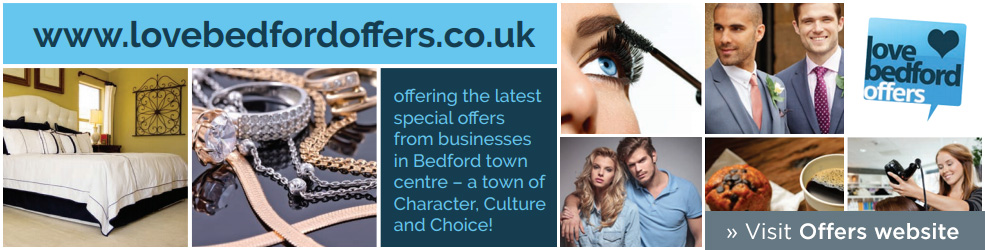Love Bedford Offers in Bedford Town Centre