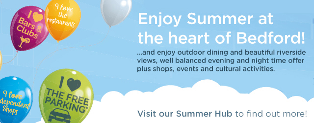 Summer 2019 events in Bedford