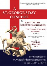 St. George's Day Concert at Bedford Corn Exchange
