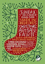 Made in Bedford's Christmas Artisan Fair 2019 at Made in Bedford at Number 13