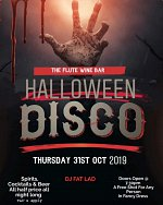 Halloween Disco at The Flute Wine & Lounge Bar