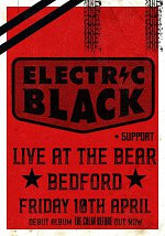 Electric Black Live at The Bear