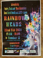 Rainbow Heads at Made in Bedford at Number 13