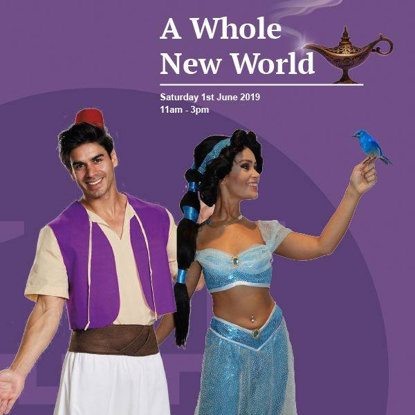 Step into A Whole New World with The Harpur Centre