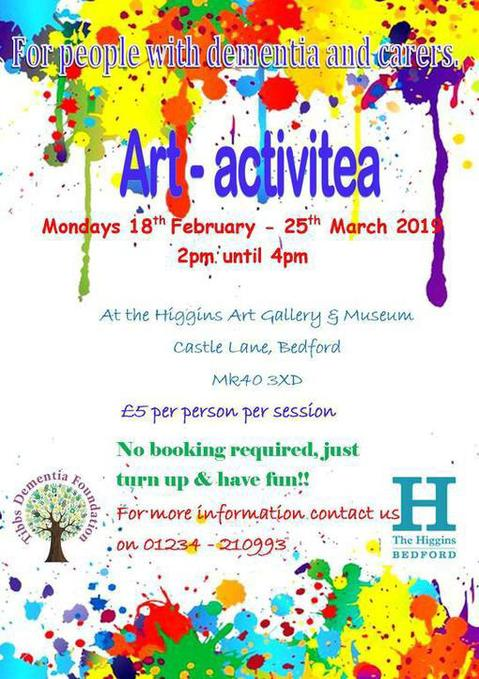 Art-Activitea at The Higgins Bedford