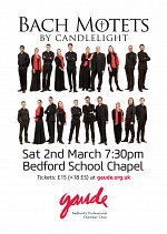 Bach Motets by Candlelight