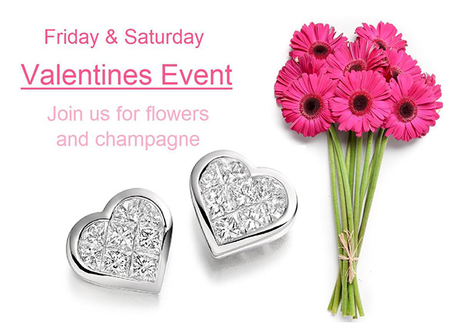 Valentine's Friday and Saturday Event at Barovic Jewellers