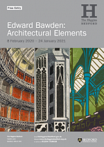 Edward Bawden: Architectural Elements (February 2020 to January 2021) At The Higgins Bedford