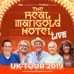 The Real Marigold Hotel Live at Bedford Corn Exchange
