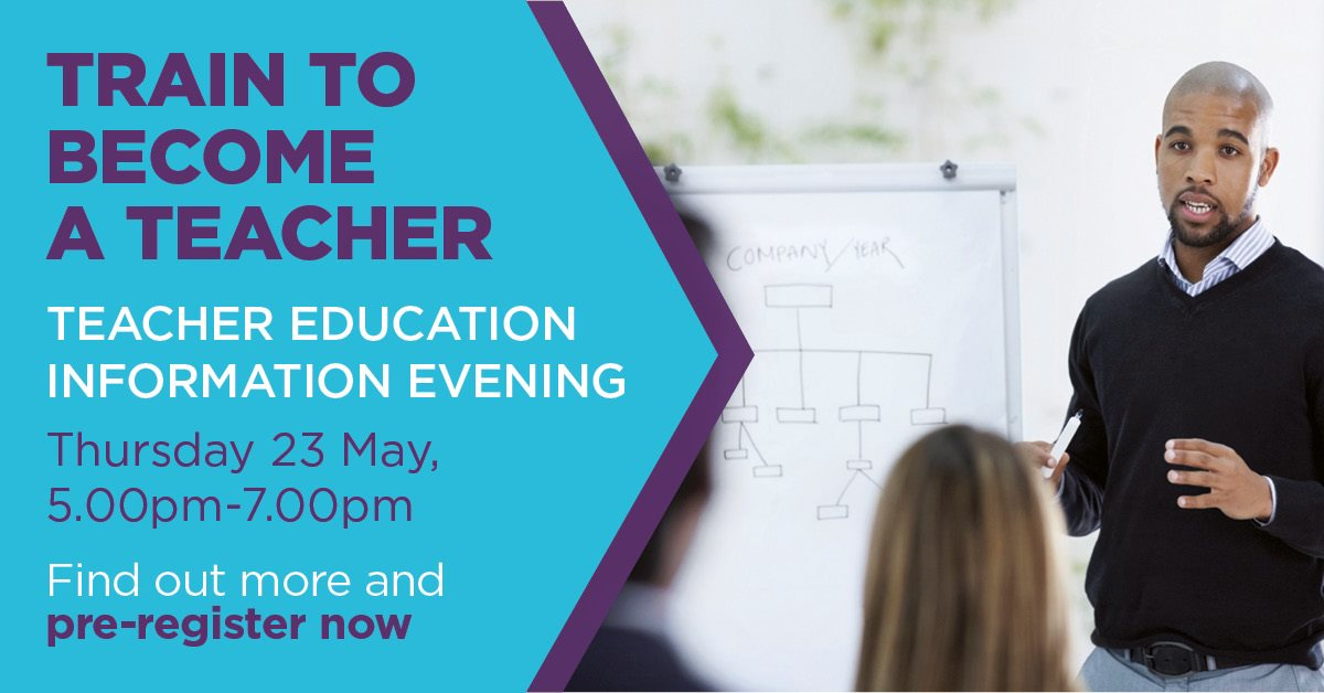 Teacher Education Information Event at Bedford College