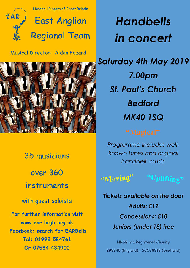 Handbells in Concert at St Pauls Church