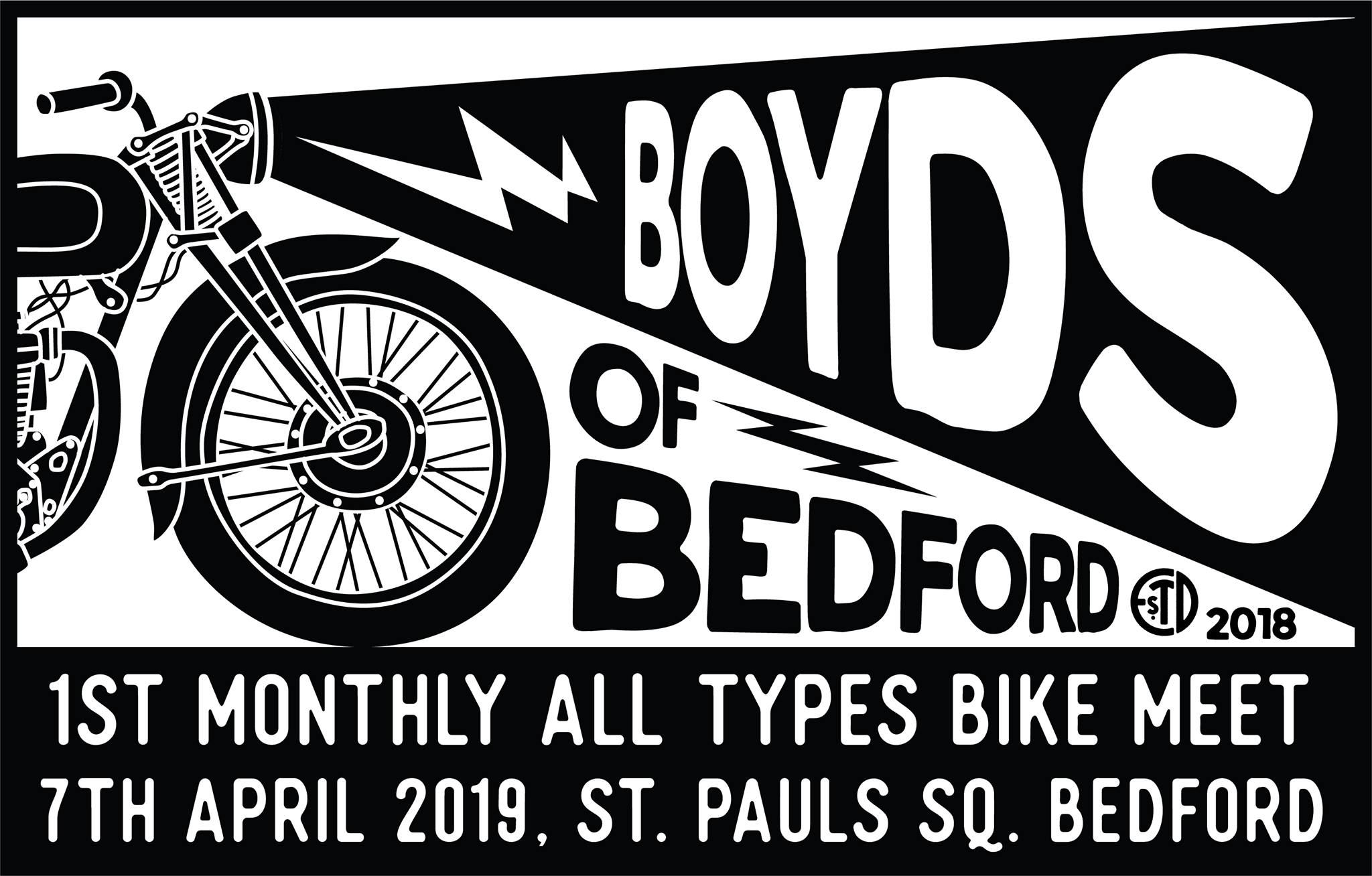 1st Monthly Boyds of Bedford All Types Bike Meet