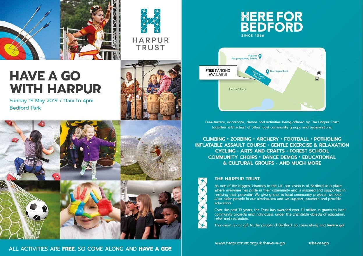 Have a Go with Harpur 2019 at Bedford Park