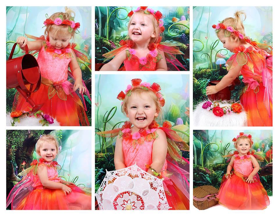 Fancy dress at K J Photography