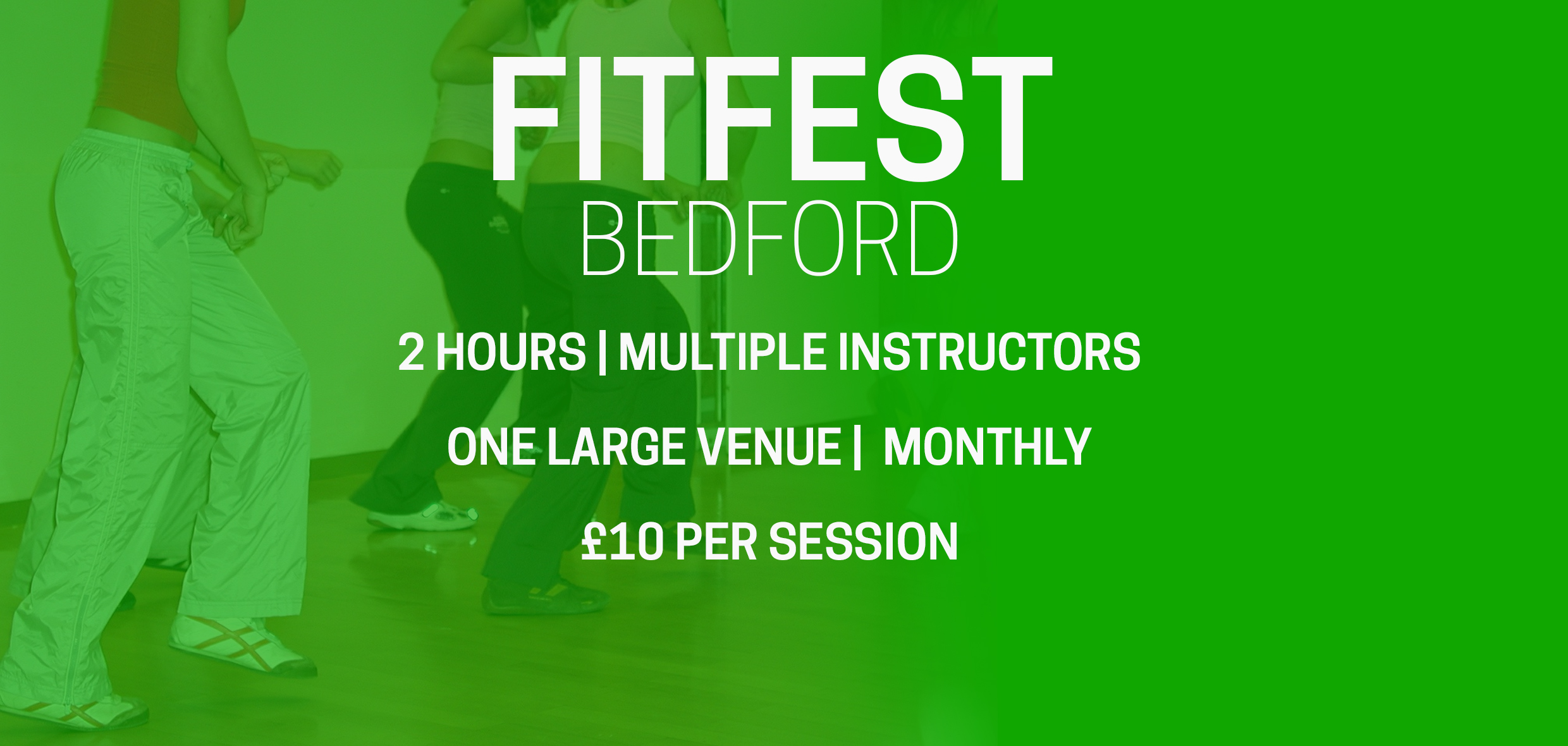 FitFest Bedford (2 Hour Aerobics Session) at Bedford Corn Exchange