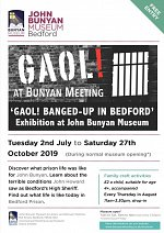 GAOL (2/07 - 27/10) at Bunyan Meeting Church
