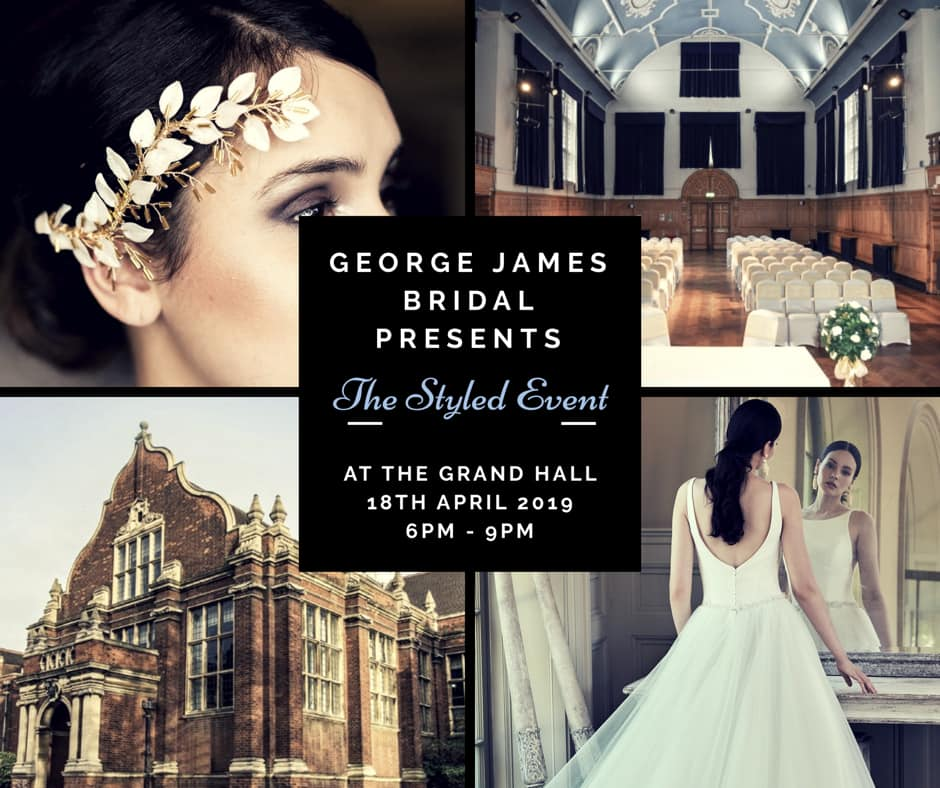 ef73d383c0e George James Bridal Event at The Grand Hall