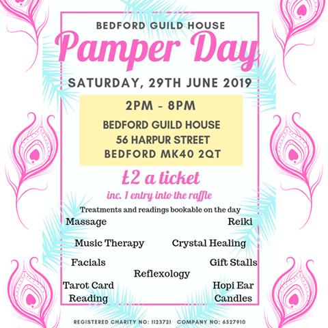 Pamper Day at Bedford Guild House