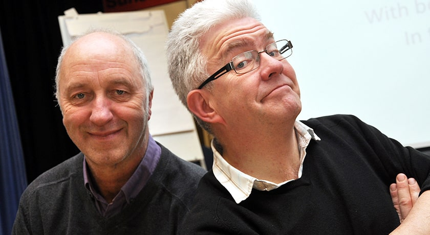 Ian McMillan & Tony Husband: A Cartoon History of Here<br />
