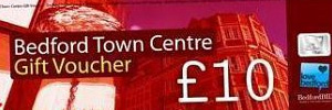Love Bedford Town Centre Gift Vouchers