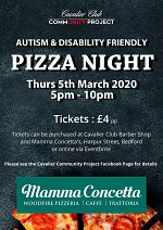 Autism & Disability Friendly Pizza Night at Mamma Concetta
