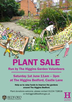 Plant Sale & Garden Tour at The Higgins Bedford