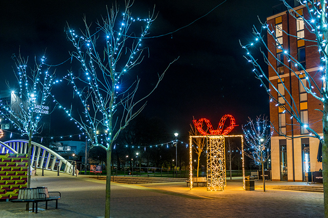Christmas in Bedford Town Centre