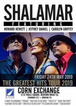 Shalamar at Bedford Corn Exchange