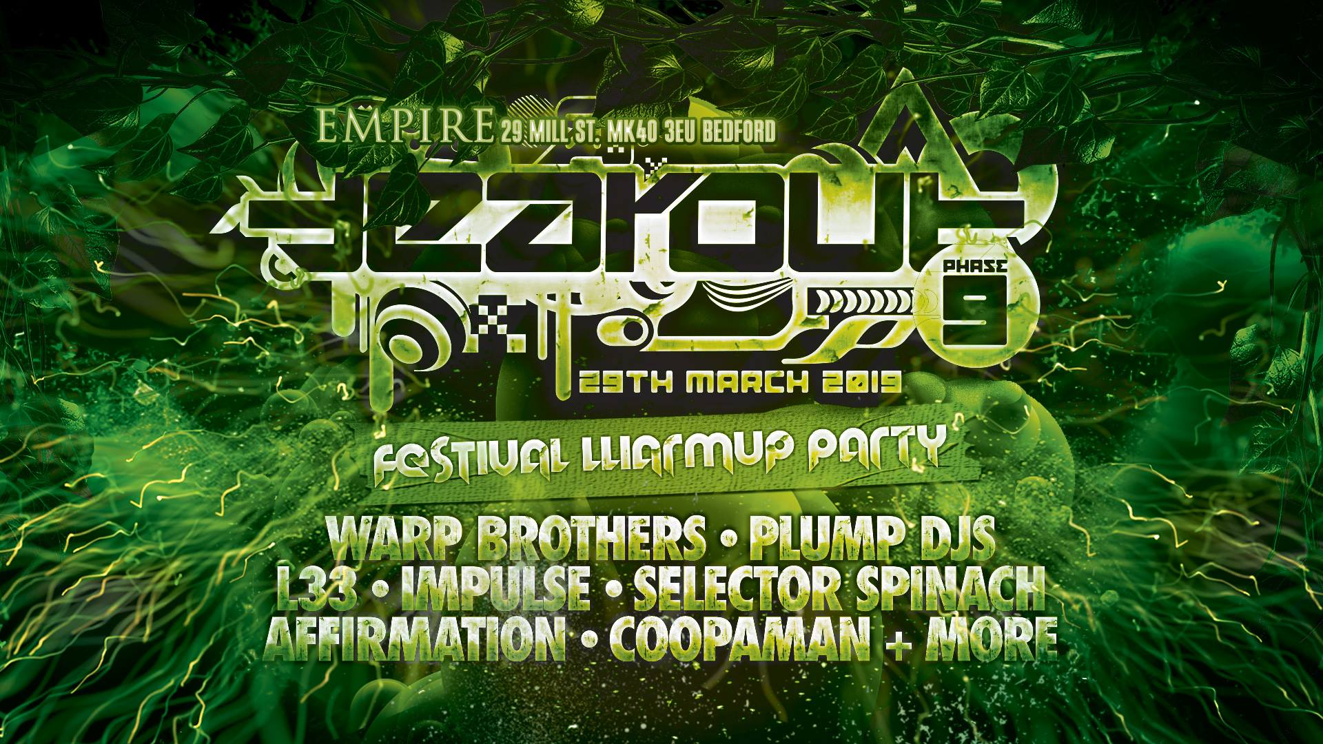 Tearout Fest Warm up Party at Empire Bedford