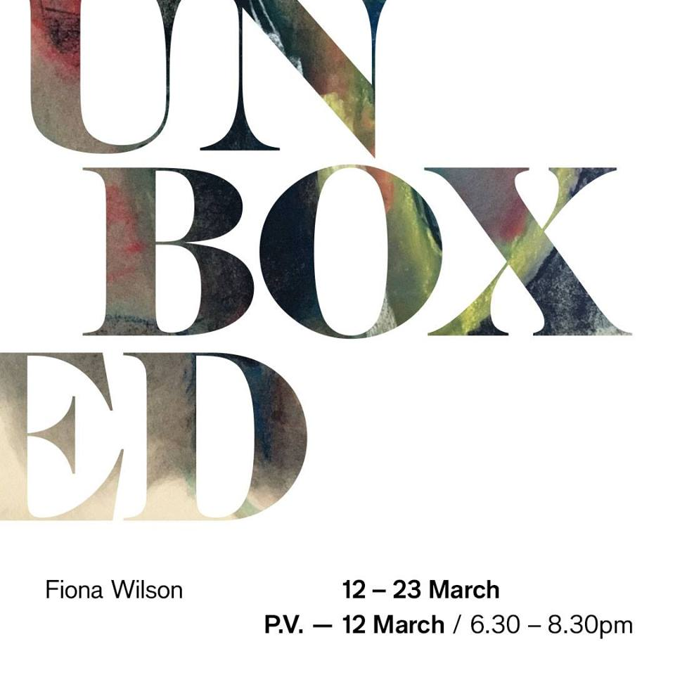 Unboxed / Solo exhibition / by Fiona Wilson at Bunyan Meeting (12th-23rd)