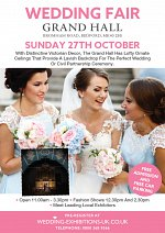 Wedding Fair at The Grand Hall